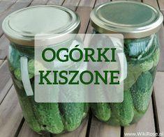 Przepis na ogórki kiszone według unikalnej starej receptury | WikiRose blog Polish Recipes, Polish Food, Pickles, Cucumber, Paleo, Canning, Blog, Butler Pantry, Polish Food Recipes