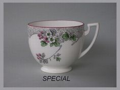 Australasian Shelley Collectors Club Inc - Gallery 1 of Cup Shapes1911 & 1928 used for special orders