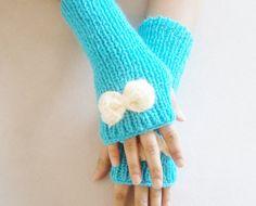 Gloves, spring fashion, women accessories, kinitting gloves, new fashion, women accessories. handmade glove, miitten, warm, holiday gifts on Etsy, $25.00