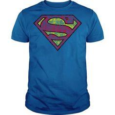 Superman Faded Logo T Shirts, Hoodies, Sweatshirts. CHECK PRICE ==► https://www.sunfrog.com/Geek-Tech/Superman-Faded-Logo.html?41382