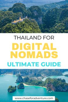 Thailand has been used as a digital nomad hub for over a decade. But have you wondered why it's the best digital nomad hub? Wanderlust Travel, Asia Travel, Places To Travel, Travel Destinations, Travel Pics, Travel With Kids, Family Travel, Thailand Travel Guide, Co Working