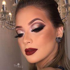 glam makeup – Hair and beauty tips, tricks and tutorials Beautiful Eye Makeup, Perfect Makeup, Pretty Makeup, Makeup Trends, Makeup Inspo, Makeup Inspiration, Make Up Looks, Bride Makeup, Wedding Hair And Makeup