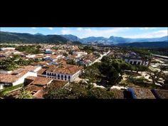 Vista aérea: Pousada do Sandi e Centro Histórico de Paraty