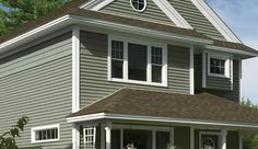 Seagrass Siding Color House Siding Vinyl Siding House