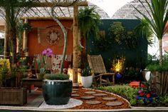 Projetos para espaços pequenos na Fiaflora ExpoGarden 2010 - Casa