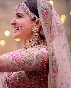 The Real Anushka Sharma & Deepika Padukone Lehenga Cost - Indian Bridal Lehenga, Indian Bridal Fashion, Indian Wedding Outfits, Bridal Outfits, Bridal Dresses, Indian Outfits, Pakistani Bridal, Indian Attire, Indian Wear