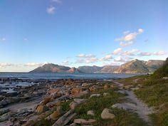 Late evening in Kommetjie, Cape Town