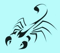Tattoo design.  I still want my scorpio tattoo.