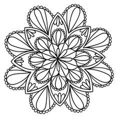 Mandala Floral #25