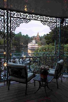 Elegant Balcony Idea - , would love to be having Sunday morning coffee here