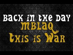 #MBLAQ (엠블랙) - This is War (전쟁이야) #MV #Reaction (뮤직비디오)(반응) #Grissle Edition