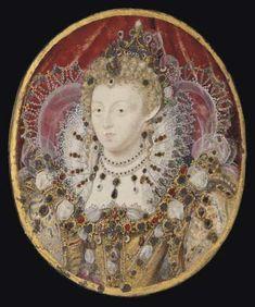 Elizabeth I, 1595-1600, by Hilliard | by lisby1