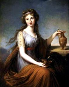 96ce21674 Hebe is the daughter of Zeus and Hera. She is the goddess of youth.