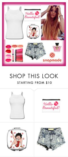 """""""#3/6 Snapmade"""" by almira-mustafic ❤ liked on Polyvore featuring GUESS"""