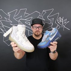 Behind The Scenes By sneakernews New Sneakers, Custom Sneakers, Air Force 1, Behind The Scenes, Conversation, Kicks, Facebook, Classic, Check