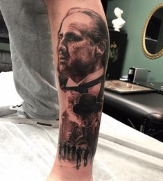 Tattoo artist Chris Nieves color and black and grey portrait realism | Australia