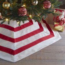 Christmas Hex Tree Skirt