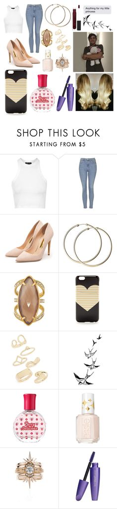 """""""Untitled #1964"""" by beau-4-ever ❤ liked on Polyvore featuring moda, Topshop, Rupert Sanderson, Henri Bendel, J.Crew, Etude House, Essie i Anastasia Beverly Hills"""