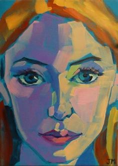 """Daily Paintworks - """"Half-Hour Portrait"""" by Jessica Miller"""