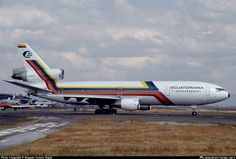 HC-BKO Ecuatoriana McDonnell Douglas DC-10-30 taken 21. Feb 1993 at JFK