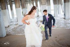 Outer Banks, NC Wedding Photographer Matt and Claire! sarahdambra.com Sarah D'Ambra Photography Jennette's Pier