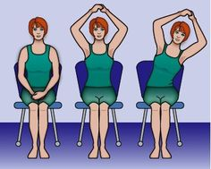 Arm and shoulder exercises to help regain motion after breast surgery. Source by Arm And Shoulder Exercises, Shoulder Workout, Arm Exercises, Flexibility Exercises, Stretches, Stomach Exercises, Breast Cancer Survivor, Breast Cancer Awareness, Plastic Surgery