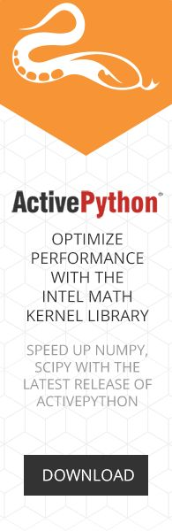 ActivePython Boosted with Intel Math Kernel Library