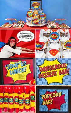 BAM! A Seriously Super Superhero Staff Appreciation Week Party