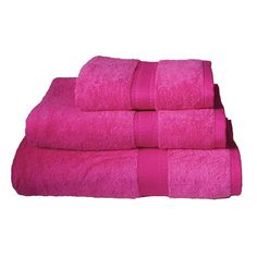 Hot Pink Towels Bathroom | Egyptian Cotton Towels, Pink, From Astons Of  London |