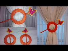 Faça você mesma - Prendedor de cortina com CDS usado! - YouTube
