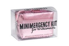Bridesmaids survival kit (should include mini-wine or tiny whisky! Ha!!!)