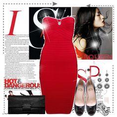 Lady In Red., created by irishrose1