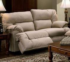 Farmhouse Leather Rocking Recliner