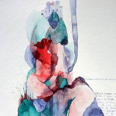 Nicola Fouché Art Paper Folder, Ocean Deep, Ocean Colors, Purple Hues, Pure Products, Illustration, Painting, Inspiration, Art