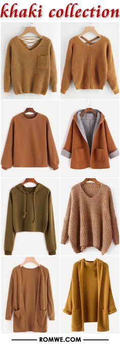 khaki collection 2017 - romwe.com