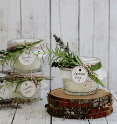 DIY Handmade Soy Candle and Pretty Packaging Idea