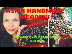 Asmr Handmade Polymer Clay Beads is a bracelet maker's version of ASMR. Scraping, rolling and crinkling sounds as I gently handle my faux amethysts, glitter . Polymer Clay Beads, Handmade Polymer Clay, Handmade Beads, Asmr, Crinkles, Rolls, Autonomous Sensory Meridian Response, Buns, Bread Rolls