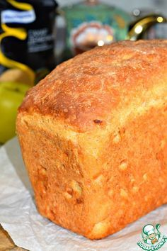 Яблочный десертный хлеб - кулинарный рецепт