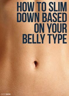Slim down by next week with these belly tips!
