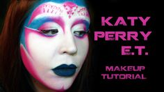 Goldiestarling's Art of Beauty Blog: Katy Perry E.T. Alien Make-up Tutorial http://goldiestarling.blogspot.com/2011/03/katy-perry-et-alien-make-up-tutorial.html#