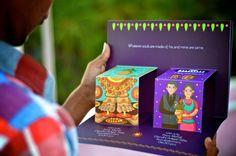 Indian Wedding Invite Design by Atma Studios (Popup) on Behance