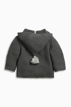 Buy Grey Hooded Cardigan (0mths-2yrs) online today at Next: United States of America