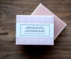 PREORDER  Lavender Baby Soap  Big Bar Pure by AnitasLaLaLand, $7.00