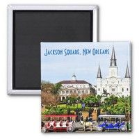 Jackson Square, New Orleans Magnet