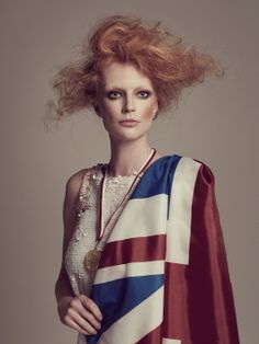 The Olympians, depicting the British Spirit of the Games in High Fashion Definition by Joanna Kustra