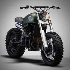 Clearly not a Honda Cb550. CX Scrambler by Ziggy Motorcycles? Love to see more of this.