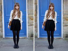 Asos Shirt, H Skirt