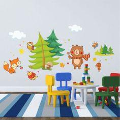 Nálepky na stenu - hviezdičky a oblaky | INSPIO Decals, Kids Rugs, Home Decor, Tags, Decoration Home, Kid Friendly Rugs, Room Decor, Sticker, Decal