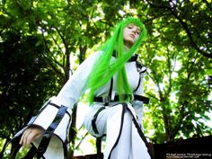 #C.C cosplay from Code Geass