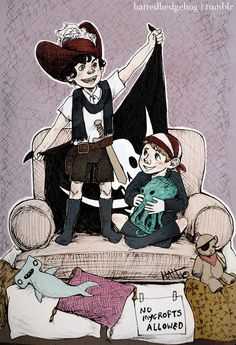 """""""Just the two of us against the rest of the world!"""". (Not usually into Kidlock, but this one is cute!)"""